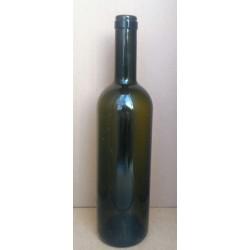 Flaske, grøn 0,7 l, (Genbrug) Bordeaux