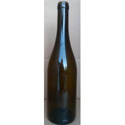 Flaske Bourgogne, grøn 0,75 l, Proplukning.