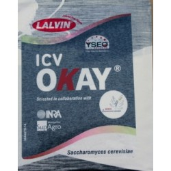 LALVIN OKAY (Lallemand), 500 gram