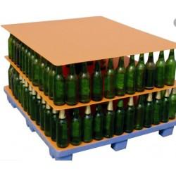 Champagneflasker på palle. Fra 169 stk (genbrug)