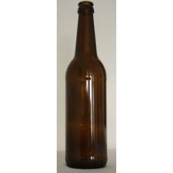 Ølflaske 0,5 l, (Genbrug)